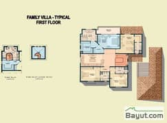 Typical 4 Bed Family Villa 1st Floor