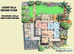 5 Bed Luxury Villa Ground Floor