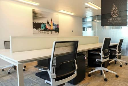 Office for Rent in Downtown Dubai, Dubai - Furnished office at AED 2