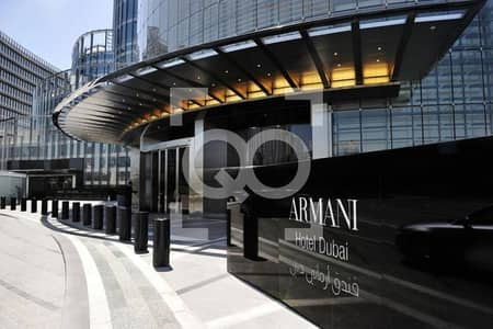 2 Bedroom Flat for Sale in Downtown Dubai, Dubai - 2BR apartment in ARMANI Residences for sale. 0% Commission!