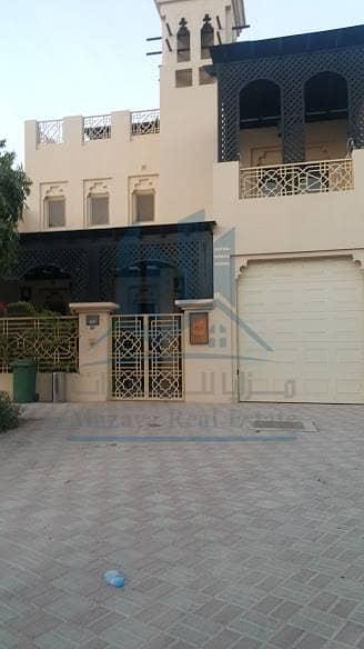 Villa for sale freehold /Furnished / Al Hamra Village