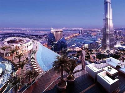 2 Bedroom Apartment for Sale in Downtown Dubai, Dubai - 2 Bed High Floor | Canal Facing