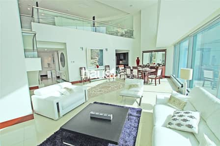 3 Bedroom Apartment for Rent in World Trade Centre, Dubai - Furnished Duplex| Double vaulted ceiling