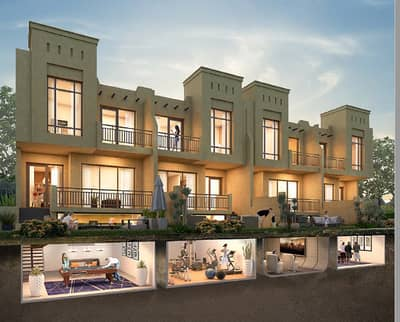 3 BR in garden view and golf view  this is the best location in UAE