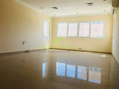 HUGE ONE BEDROOM & HALL FOR RENT IN KHALIFA CITY (A)  BEHIND KHALIFA MARKET .