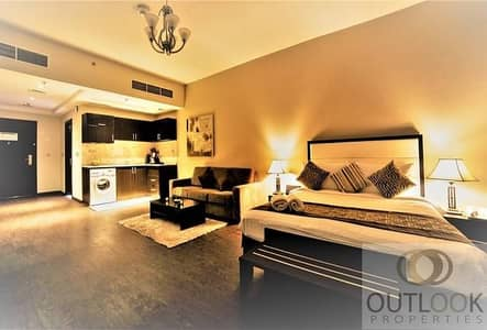 Studio for Rent in Arjan, Dubai - Pay 12 Chq. | Furnished | Free Cleaning + Maintenance