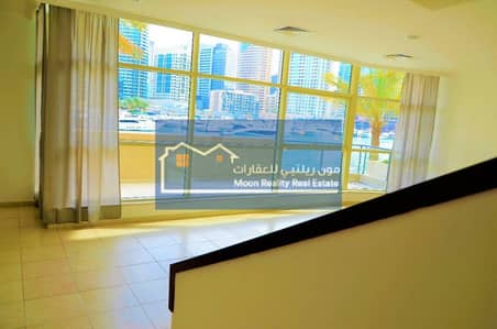 Al Sahab 3 Bedrooms With Maids and Store Room, Villa Duplex, Full Marina View From All Rooms