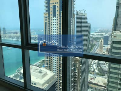 Beautiful Sea View and Palm View 3 Bedrooms For Rent in Torch Tower Higher Floor