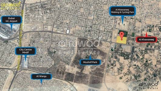 Plot for Sale in Al Khawaneej, Dubai - Residential  Villa Plots for Freehold in Al Khwaneej with Payment plan 1 year  NO COMMISSION