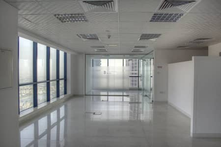Fully fitted and partitioned high floor office