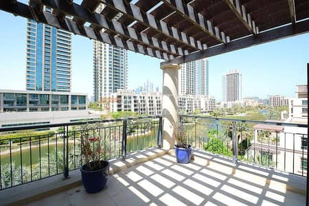 2BR + Terrace | Full Canal and Pool View