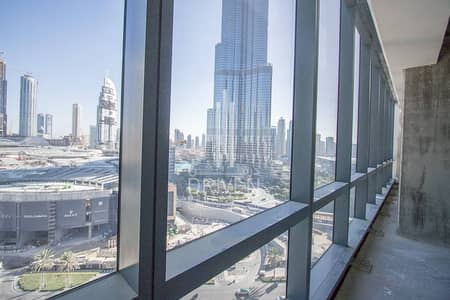 Best Burj Views - Huge Shell & Core office