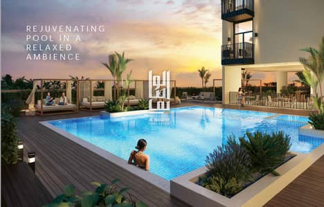 Owned apartment with luxury finishes with a fee of 50 thousand dirhams and installment in a distinctive compound