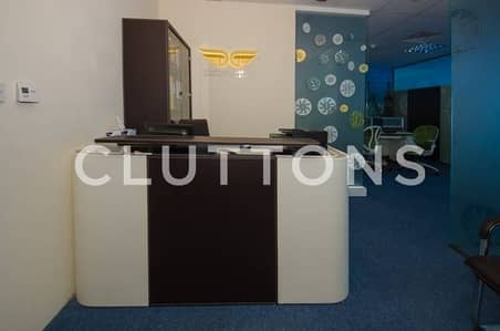 Good investment into furnished rented office