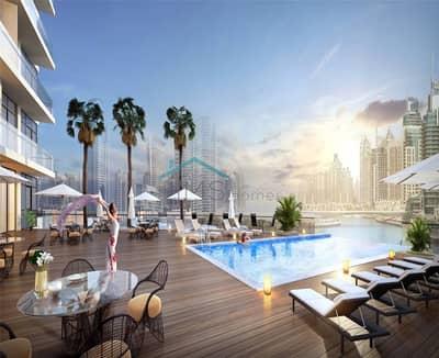 2 Bedroom Apartment for Sale in Dubai Marina, Dubai - Panoramic marina views | No Comms | 60/40 payplan
