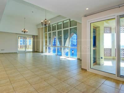 3 Bed plus Maid with Balcony in Marina Residence