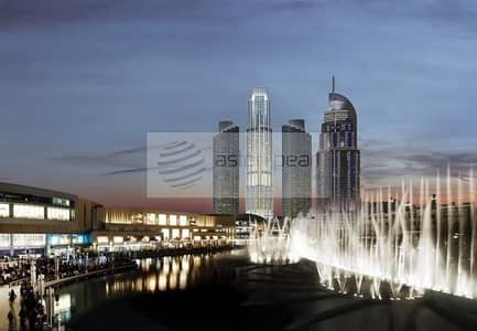 Off Plan 3 BR w/ Full Burj and Fountain Views