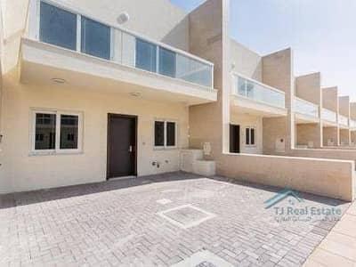 3 Bedroom Villa for Rent in International City, Dubai - 3BR +MAID'S ROOM SINGLE ROW VILLA FOR RENT 100K