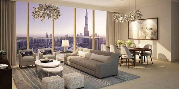 2 Bedroom Flat for Sale in Downtown Dubai, Dubai - no commission  2 bedrooms 3 bathroom in down town dubai Installment