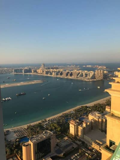 High floor  Partial Sea View 1 BDR For Rent in Elite Residence Marina