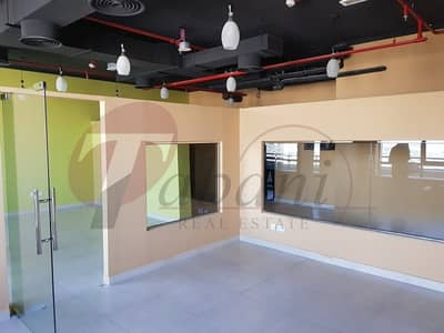 Fitted Office for Sale at Prime Bus Center with Balcony