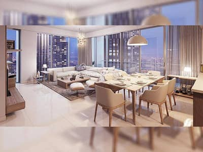 3 Bedroom Villa for Sale in Downtown Dubai, Dubai - Luxurious 3 BR Duplex Villa  | Burj View
