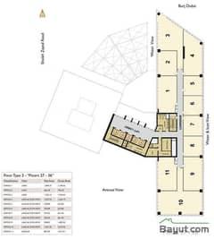 Floors (27-36) Type 2