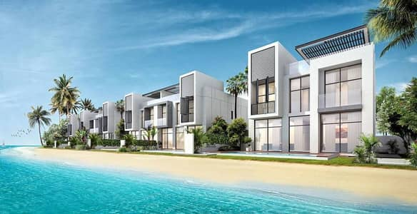 Villa In Marina Sharjah Directly On The Sea