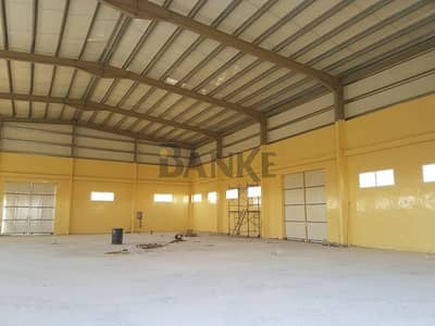 Warehouse for Rent in Emirates Modern Industrial Area, Umm Al Quwain - 107K sq.ft. plot