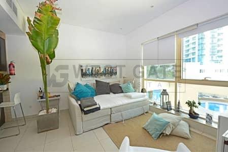 Studio for Sale in Dubai Marina, Dubai - Studio in Royal Oceanic - Spacious Terraced Apartment | Premium Location