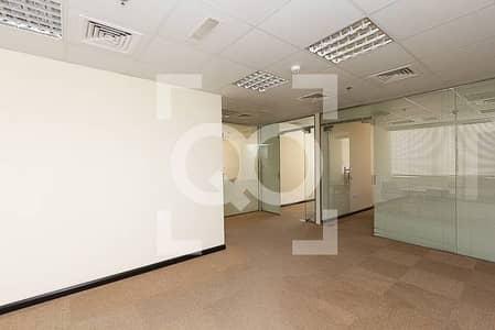 JLT   Furnished Office With Huge Terrace Mazaya BB1 Tower