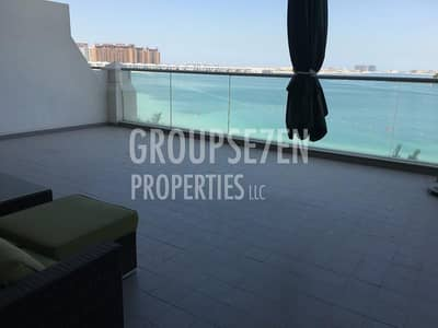Full Sea View Furnished 1BR for rent in Azure Residence