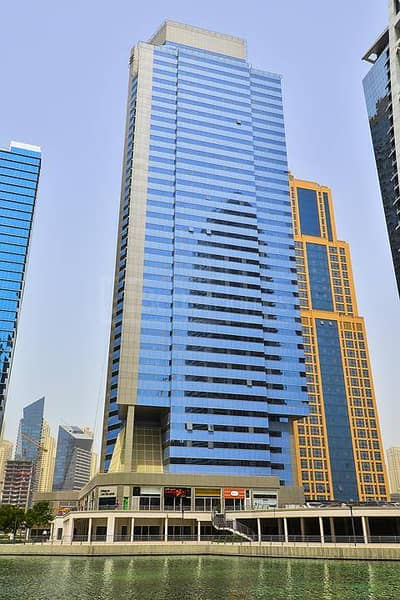 Shell and Core office in HDS Tower at JLT