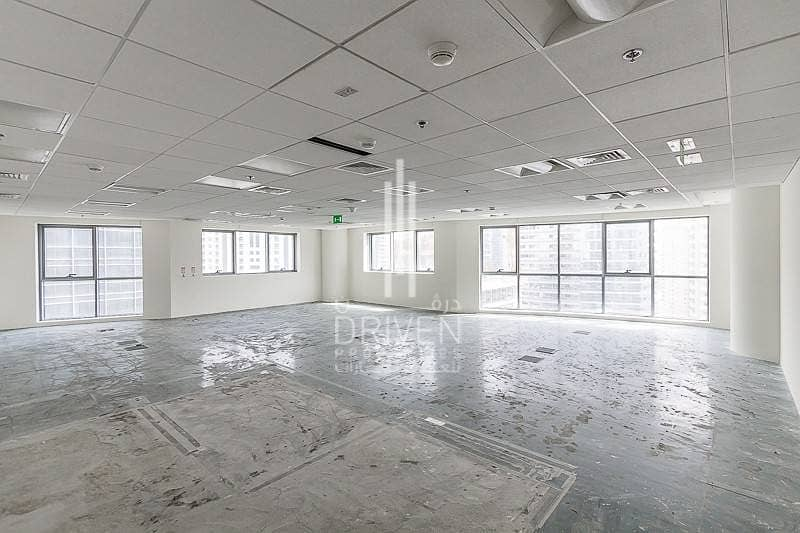 Semi Fitted | Bright Office Space in JLT