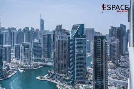 3 Bedroom Flat for Sale in Dubai Marina, Dubai - Breathaking Marina View | Mid Floor | Vacant