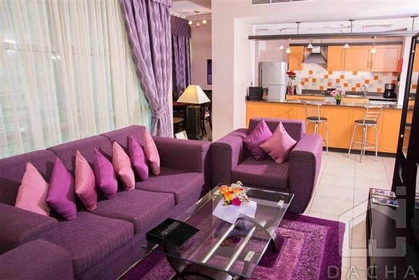 4 Free Cooling -1Yr - Barsha 1 fully furnished 2Br