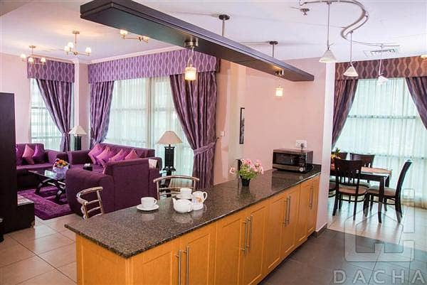 7 Free Cooling -1Yr - Barsha 1 fully furnished 2Br