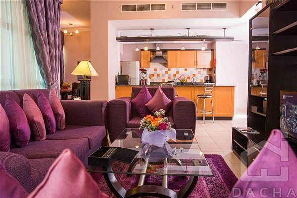 9 Free Cooling -1Yr - Barsha 1 fully furnished 2Br