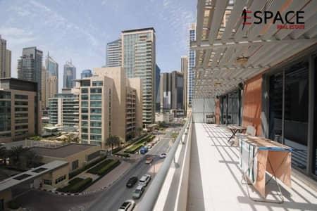 2 Bedroom Apartment for Sale in Dubai Marina, Dubai - Large and Spacious Unit | Balcony | Marina View