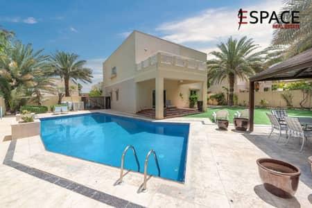 4 Bedroom Villa for Sale in The Meadows, Dubai - Corner Plot Private Pool and Upgraded 4BR