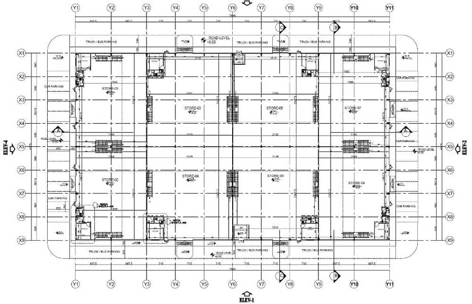 10 Warehouse Ground Floor Plan