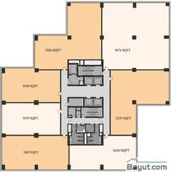 Typical Offices Plan