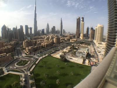 Vacant two bedrooms with full burj view in South Ridge