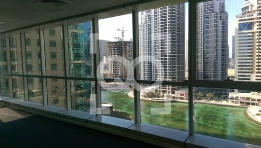 Office for Rent in Jumeirah Lake Towers (JLT), Dubai - 6 Cheques | Ready Office | Lake View