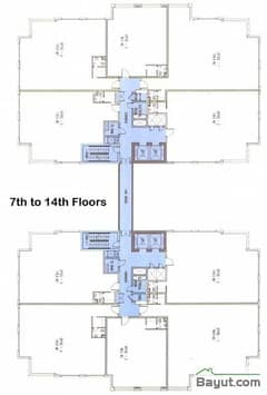 Floors (7-14)