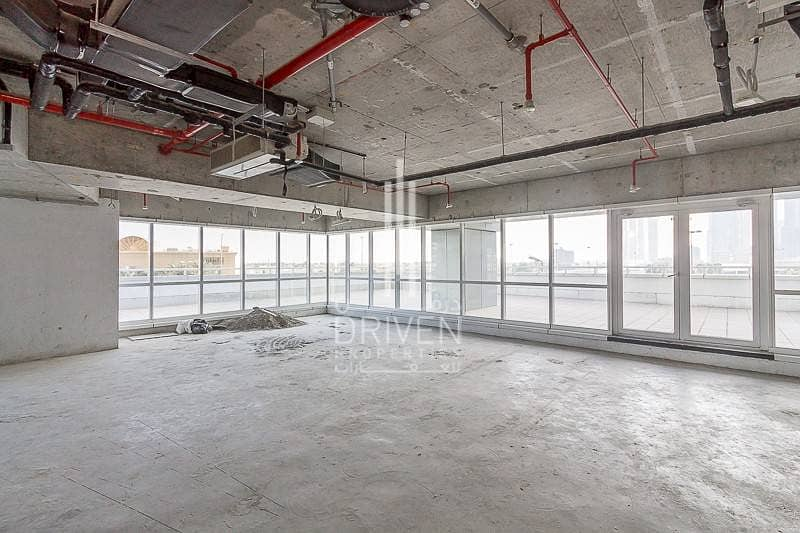 2 Huge Shell and Core Retail Space l 4 Chqs