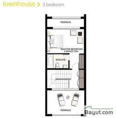3 Bedroom Townhouse 2nd Floor