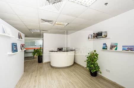 Fitted Office ready to rent I High Floor