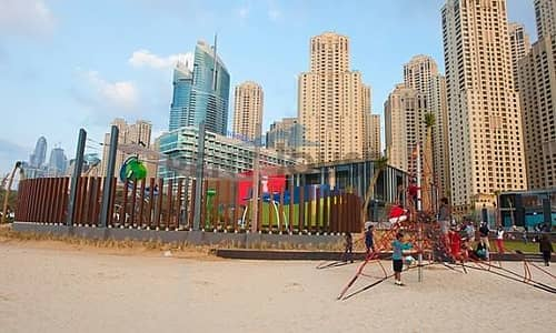 High floor with full sea view 2 BR in Amwaj 4