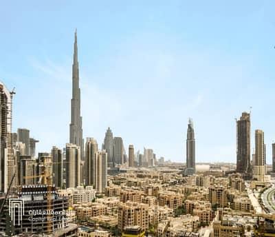 Luxury Business Bay Office - View of Burj Khalifa